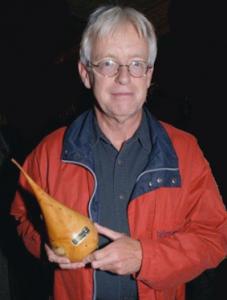 Herman van 't Spijker krijgt Gouden Peer 2008 van Stichting Zuilen en Vecht