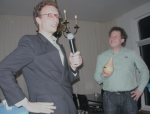 Lucas Brouns krijgt Gouden Peer 2010 van Stichting Zuilen en Vecht