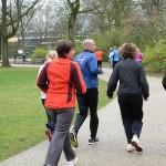 Hardlopen in het Julianapark