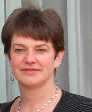 Monique de Goeij, bestuurslid en coördinator van het Antje Drijver Paviljoen